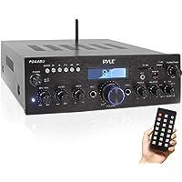 Queen.Y Mini Hifi 2 1 Est/éreo Bajo Auto Car Home Audio Amplificador de Potencia Amplificador Digital Negro