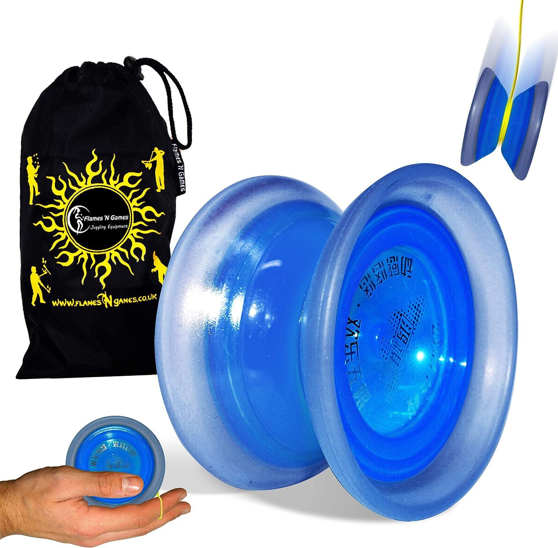 1x Yoyo Ball Professional Bearing String Trick Yo-Yo Kids Magic Juggling MAEK