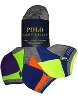 Polo by Ralph Lauren Men's Socks Grey Multi (pack of 3)