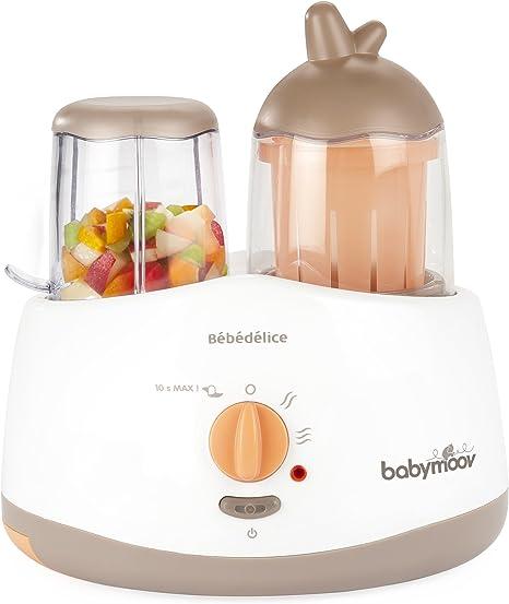 Babymoov Bébédelice - Robot de cocina, color topo y albaricoque: Amazon.es: Bebé