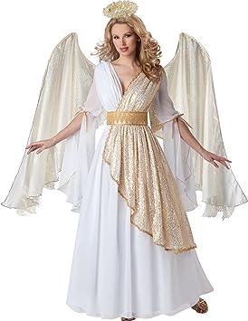 Disfraz de ángel celestial para mujer: Amazon.es: Juguetes y juegos