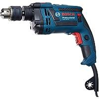 Bosch 06012281E3-000, Furadeira de Impacto GSB 16 RE 220V, Azul