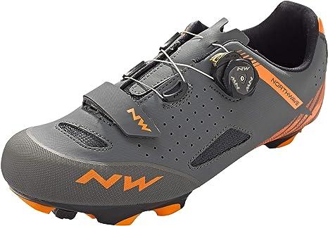 Northwave Zapatillas MTB Origin Plus Gris/Naranja - Talla: 42 ...