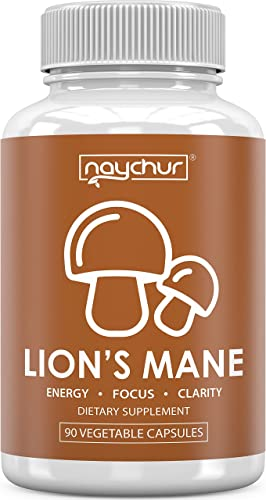 Lions Mane Mushroom Capsules – Immune Support System Booster for Adults – Nootropic Brain Booster Supplement for Focus Memory Pills – Lion s Mane Reishi Maitake Shiitake Chaga Powder Complex Extract