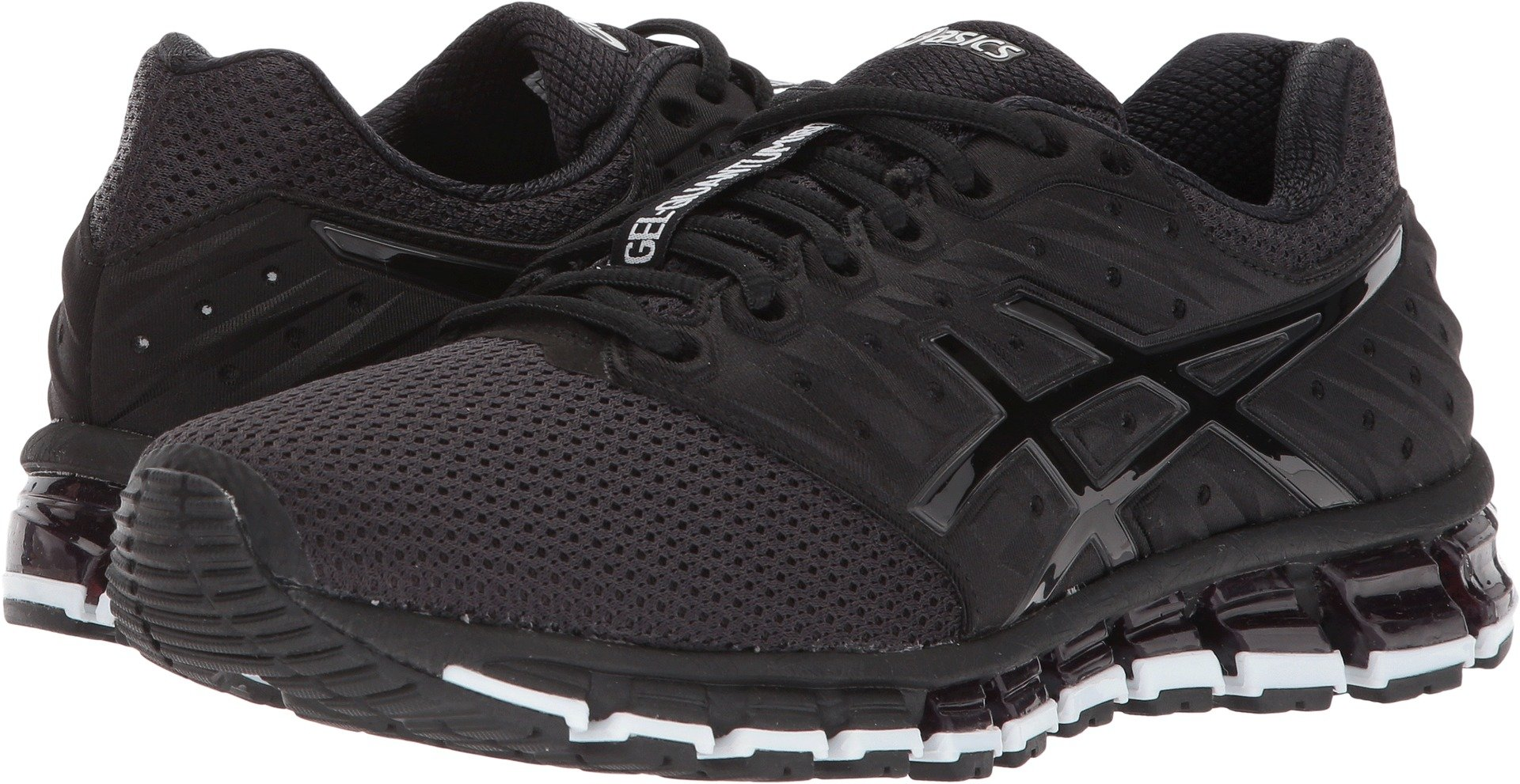 Asics Womens Gel-Quantum 180 2 MX Running Shoes Phantom/Black/White 7.5 B(M) US by ASICS
