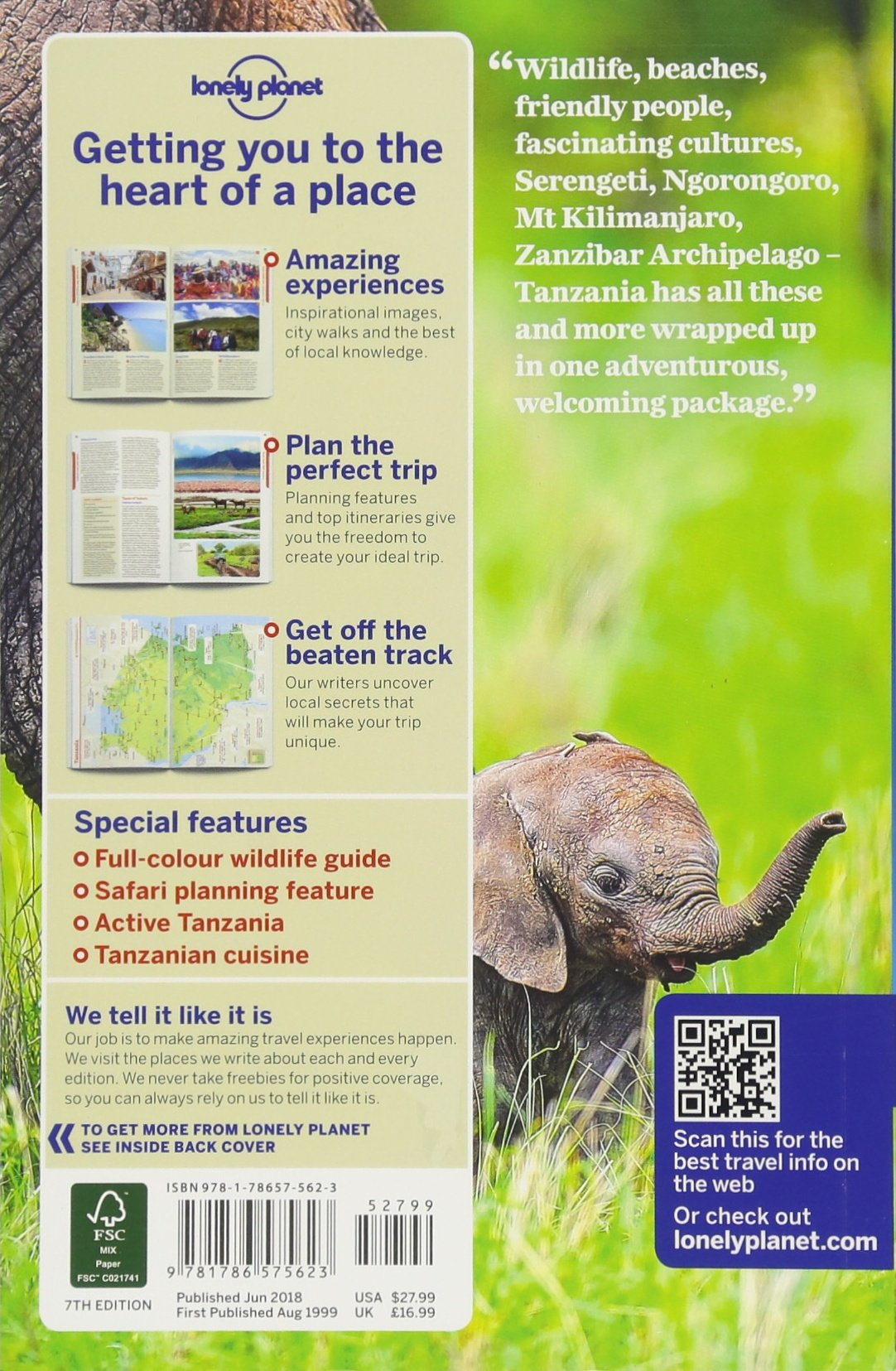 Lonely Planet Tanzania (Travel Guide): Lonely Planet, Mary