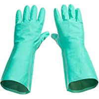 Tusko Products Best Nitrile Rubber Cleaning, Household, Dishwashing Gloves, Latex Free, Vinyl Free, Reusable not…