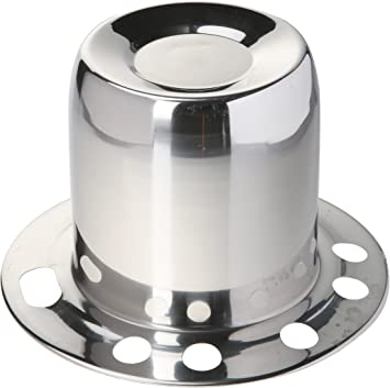 Topline C111S Polished Stainless Steel Center Cap