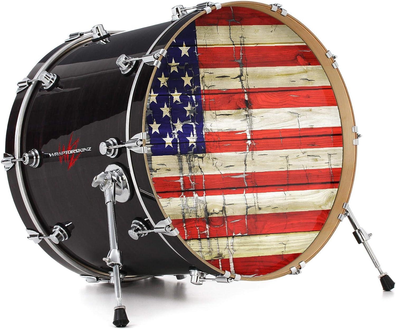 Drum Wrap Vinyl Kit Matte Surface For Snare Kick Bass Tom WMP Shell Skin Decal