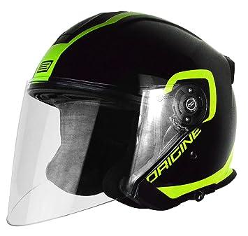 Origine Helmets 201586019200505 Casco Jet Palio Flow 2.0, Negro/Lima, ...