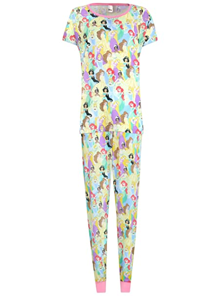 Disney Princess - Pijama para mujer -Disney Princess - X-Small