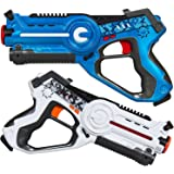 MOD Complete Kids Laser Tag Set Gun Toy Blasters W/ Multiplayer Mode, 2 Pack