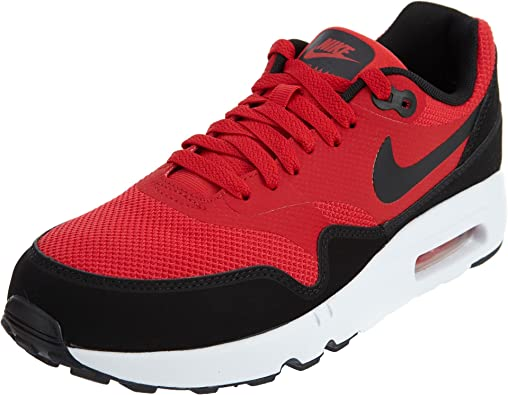 Nike Men's Air Max 1 Ultra 2.0 Essential, University REDBlackWhite, 6.5 M US