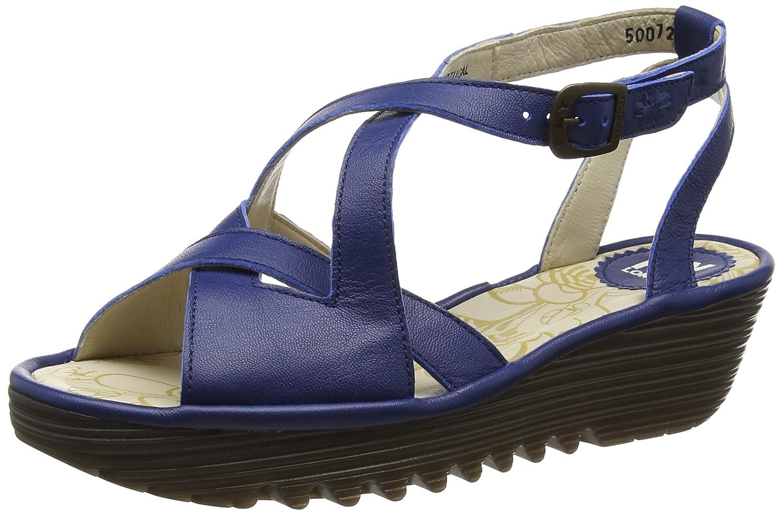 FLY London Women's Rand728fly Flat Sandal