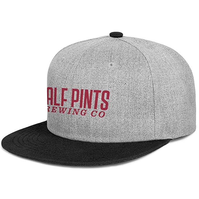 410e2fcab Half Pints Men Womens Wool Hip Hop Cap Adjustable Snapback Sun Hat ...