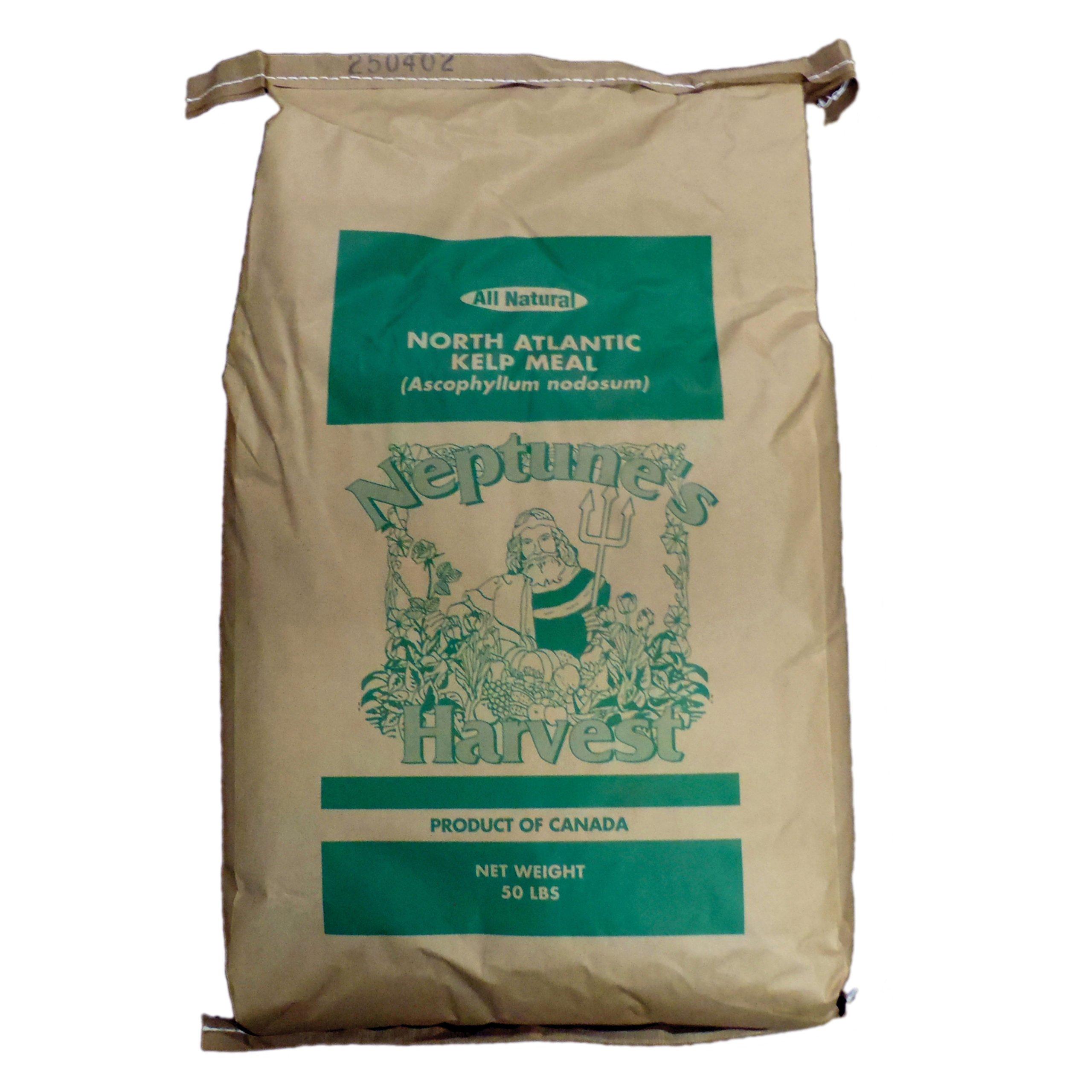 Neptune's Harvest KM650 Organic Kelp Meal, 50-Pound