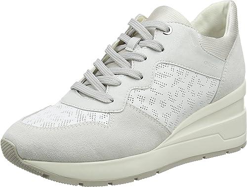 Geox Damen D Zosma C Sneaker