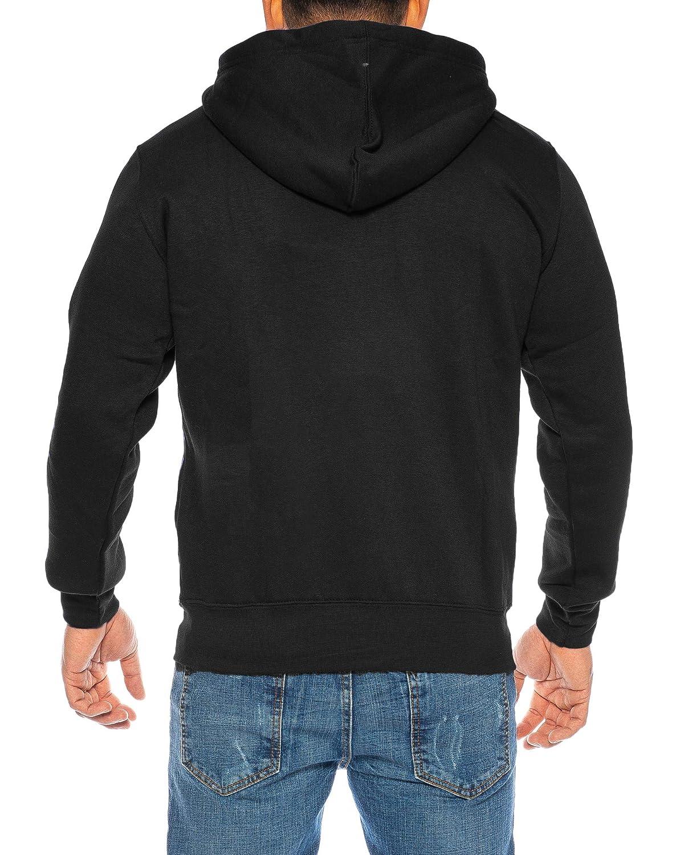 Raff Taff Herren Hoodies Kapuzenpullover Sweatjacke Jacke Basic Schlicht  bis 6XL (Schwarz, 6XL)  Amazon.de  Bekleidung dacc3470a4