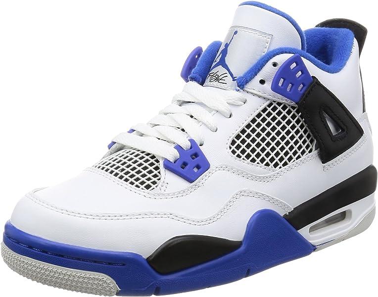 quality design 19b5b f1b20 Amazon.com   Air Jordan 4 Retro BG - 408452 117   Basketball