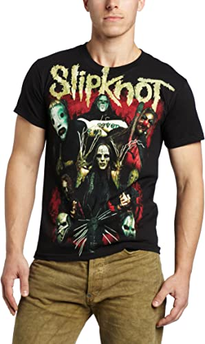 Slipknot T-shirt Come Play Dying Men/'s Black