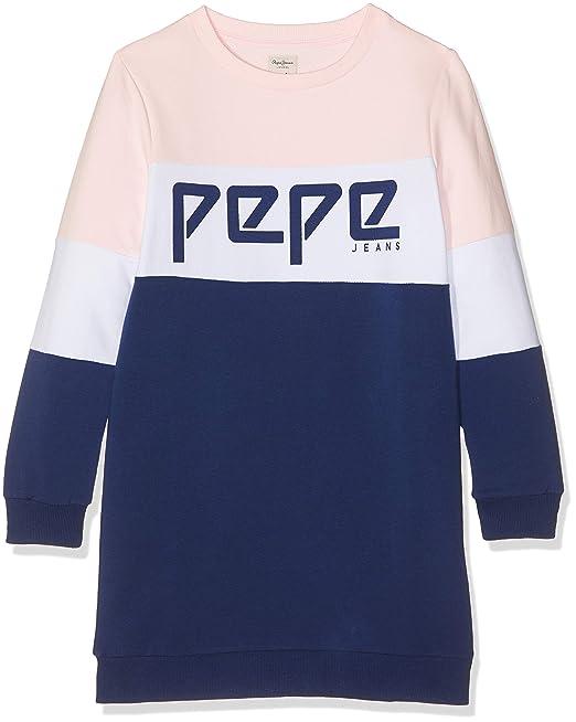Pepe Jeans Vestido Para Niñas Amazones Ropa Y Accesorios