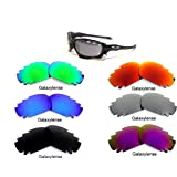 Galaxylense Replacement Lenses for Oakley Jawbone 6 Pairs Polarized,Free S&H
