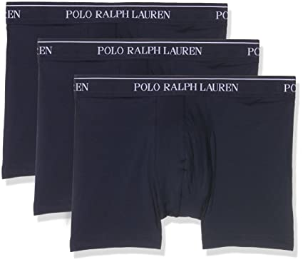 Polo Ralph Lauren Brief, Boxer de Bain Homme (lot de 3)  Amazon.fr ... c5319a0c472e