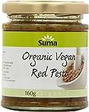 Suma Organic Vegan Red Pesto 160 g (Pack of 6)
