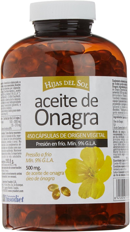 Hijas Del Sol Onagra - 450 Cápsulas Blandas: Amazon.es: Salud y ...