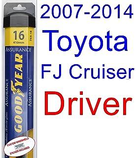2007-2014 Toyota FJ Cruiser Wiper Blade (Driver) (Goodyear Wiper Blades-