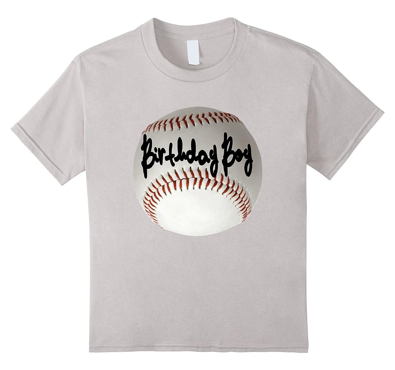Birthday Boy TShirt Signed Baseball-Awarplus