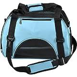 Yoption Airline Approved Portable Pet Carrier Tote Bag, Soft-Side Travel Handbag Shoulder Bag for Pets Cat and Dog