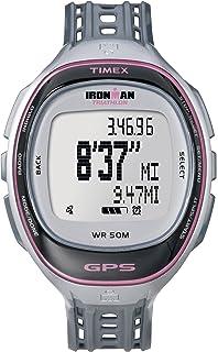 abc59a0faf1d Amazon.com  Timex Unisex T5K744 Ironman Run Trainer 2.0 GPS Speed+ ...