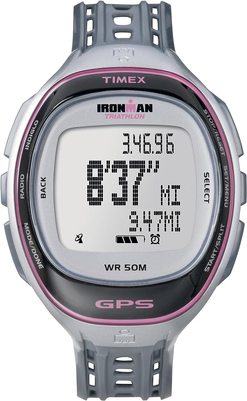 amazon com timex full size t5k549 ironman run trainer gps watch