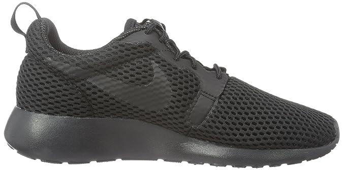 Nike NikeW Roshe One Hyp BR - Scarpe da Ginnastica Basse Donna, Nero (Schwarz (001 Black/Black-Cool Grey)), 36