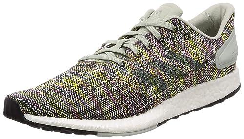 c6978e8bb Adidas Men s Pureboost DPR Ashsil Rawgrn Shoyel Running Shoes-10 UK India