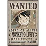 ONE PIECE - Poster Wanted Luffy New (52x35)
