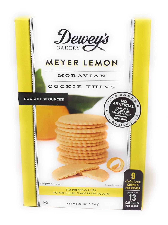 Dewey's Bakery Meyer Lemon Moravian Cookie Thins 28 oz.