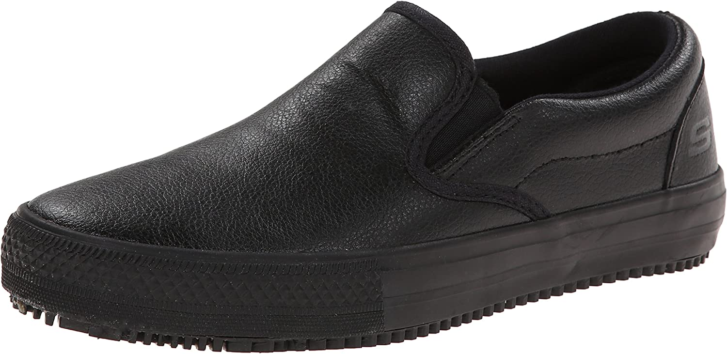 Skechers for Work Women's Gibson-Brogna SR Slip-On
