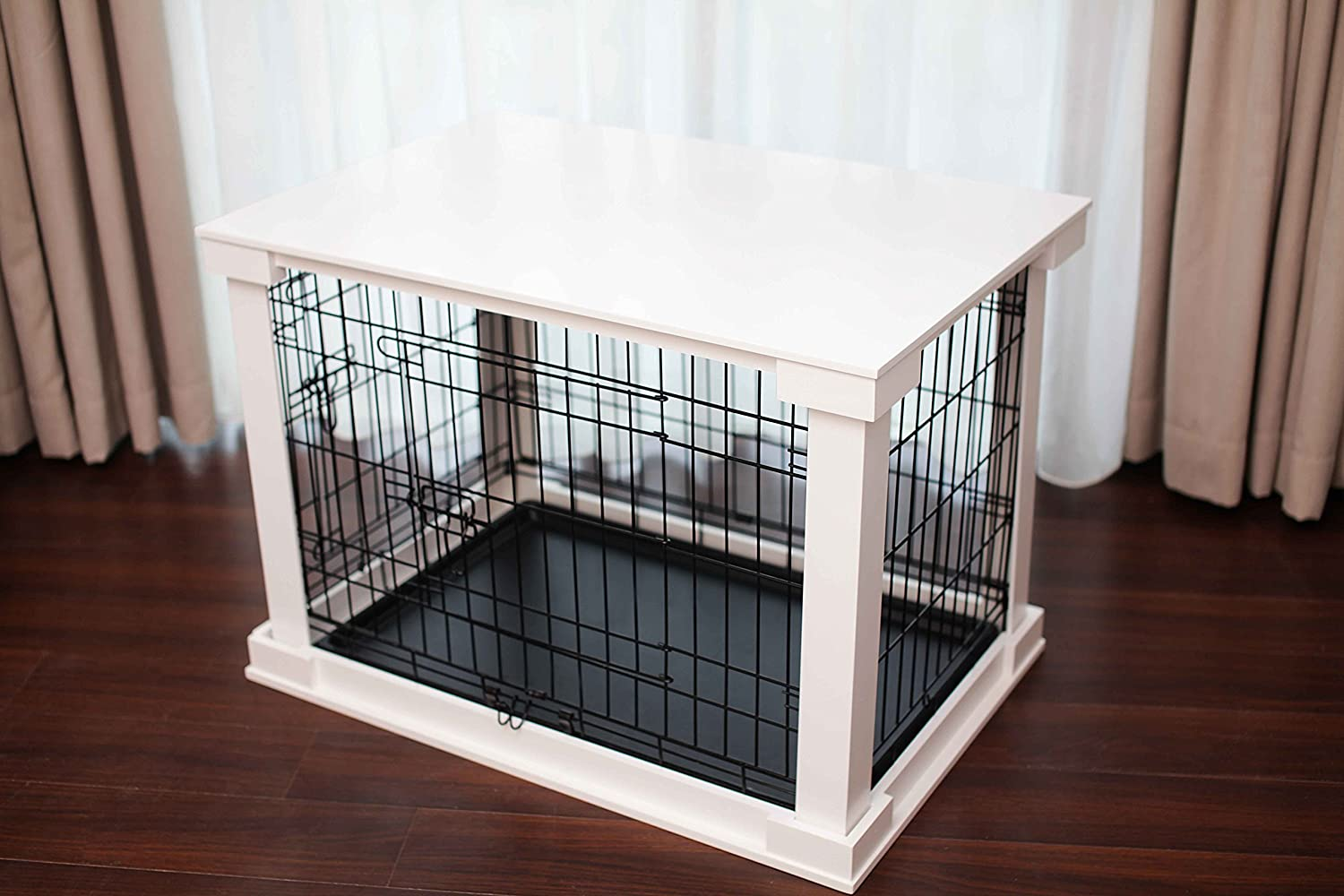 Exceptional Amazon.com : Zoovilla Medium White Cage With Crate Cover : Pet Supplies