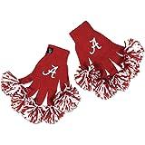 NCAA School Teams Embroidered Spirit Fingerz Pom Pom Gloves