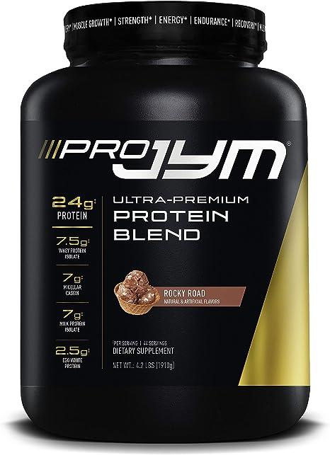 Amazon.com: Pro JYM Protein Powder - Egg White, Milk, Whey Protein ...