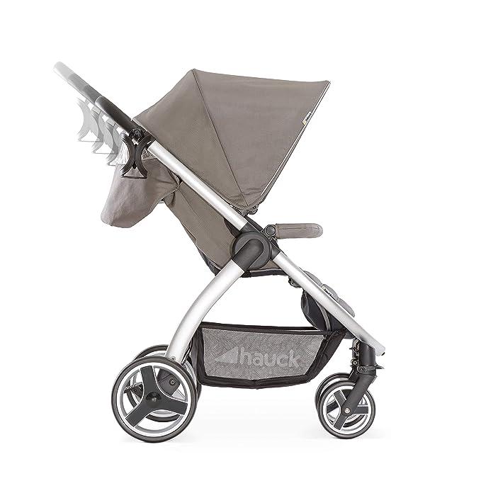 ... chasis aluminio, plegado libro con una mano, desde nacimiento hasta 25 kg, manillar regulable en altura, botellero, Charcoal (gris): Amazon.es: Bebé