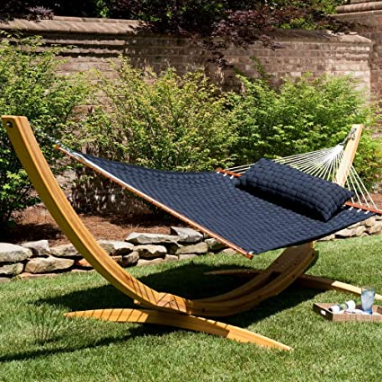 Incroyable Hatteras Hammocks Soft Weave Hammock   Navy
