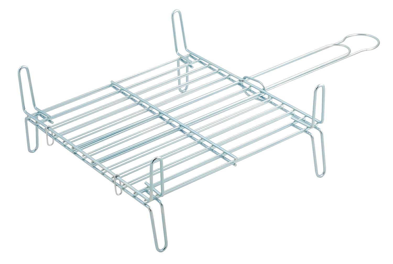 Metaltex 730445 - Parrilla doble especial, 45 x 45 centímetros