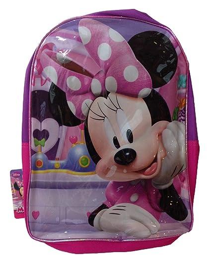 Minnie Mouse Big Bow Mochila de 16 Pulgadas