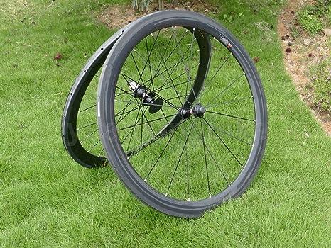 Full Carbon 3 K Mate Bicicleta de carretera Tubular wheel rim 50 ...