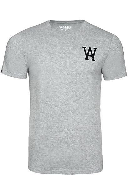 WOLDO Athletic I T-Shirt Herren I Rundhals-Ausschnitt I Baumwolle I Kurzarm  I Regular-Fit I T Shirt: Amazon.de: Bekleidung