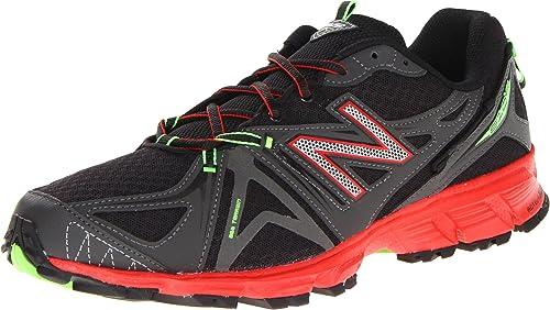 New Balance MT610v2 - Zapatillas de running para hombre, color gris y  naranja, talla 9,5