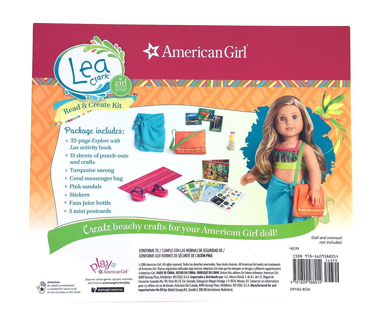 Amazon com: American Girl 2016 Girl of the Year Lea Clark